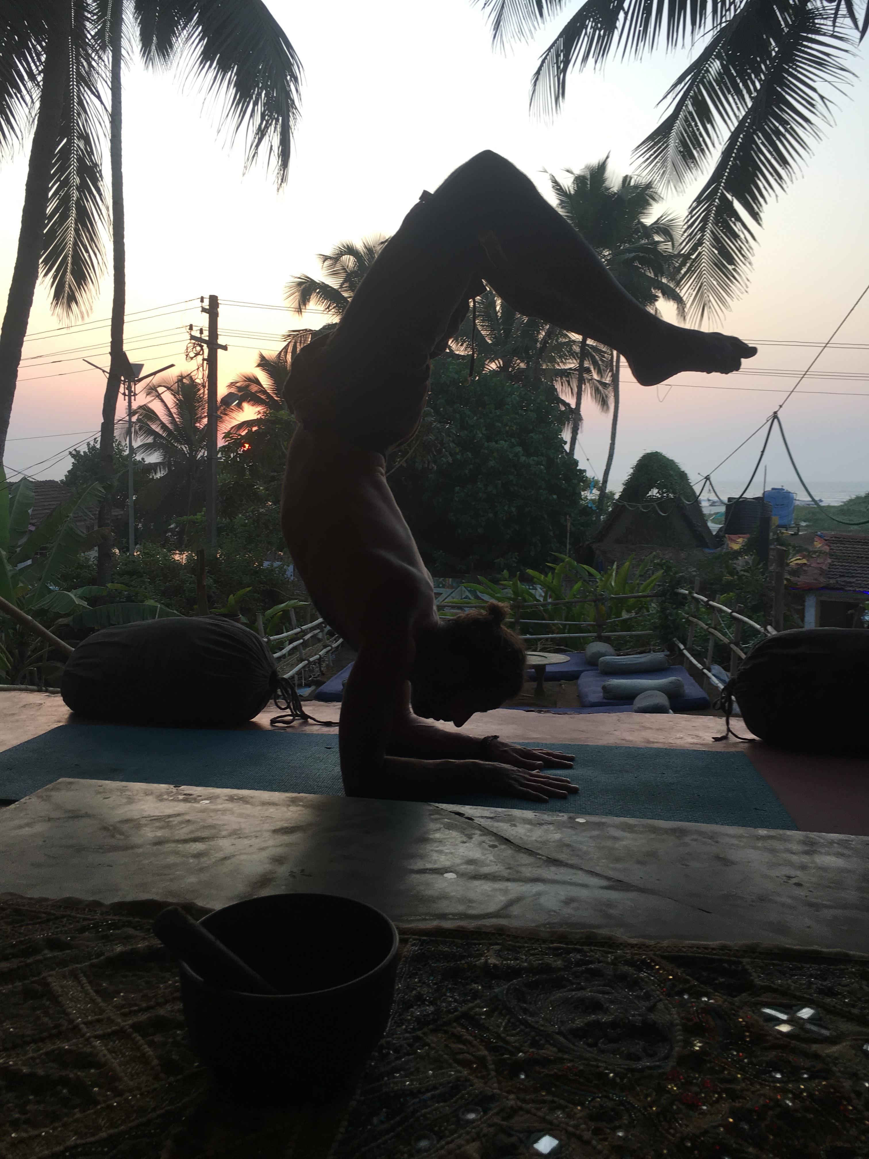 Vrschikasana at Samadhi Yoga