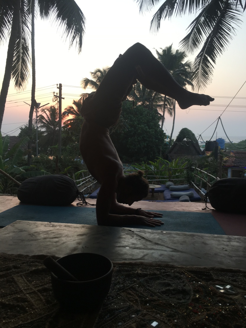Vrschikasana at Samadhi Yoga